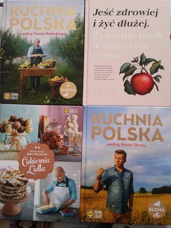 Książki kucharskie książki o zdrowym żywieniu Kuchnia Polska