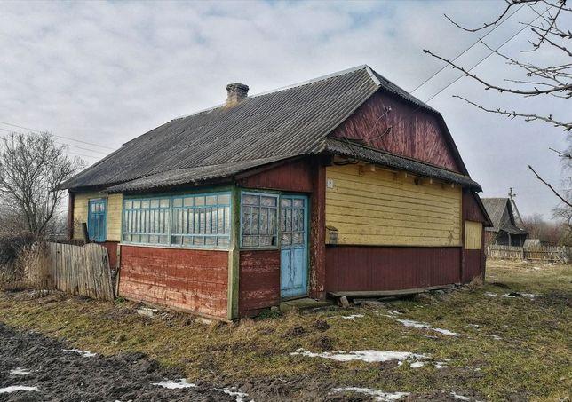 Продам будинок із земельною ділянкою 25 соток. с.Секунь, 15 км. Ковель