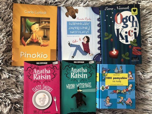 Książki dla dzieci bądź nastolatków