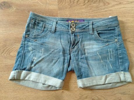 Spodenki jeansowe Cropp rozm S