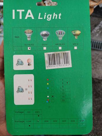 Lampadas led 1 euro embalagen
