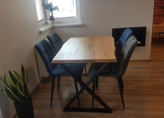 STÓŁ DĘBOWY industrialny loftowy stół na wymiar producent meble loft