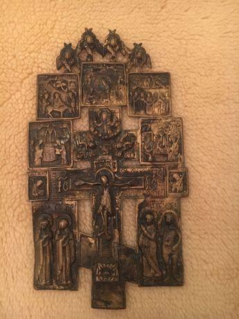 Старообрядческий киотный крест