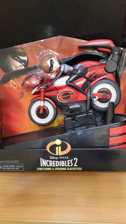 Суперсемейка Incredibles 2 Elastigirl Эластика на мотоцикле