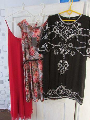 Trzy sukienki w cenie jednej M/L duże rozmiary.
