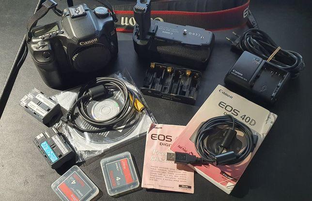 Canon 40D + grip