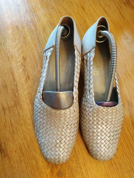 Шкіряні туфлі Italy кожаные туфли Италия