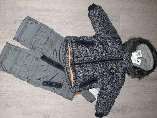 Kurtka i spodnie zimowe kombinezon Wójcik 74 :) Zara