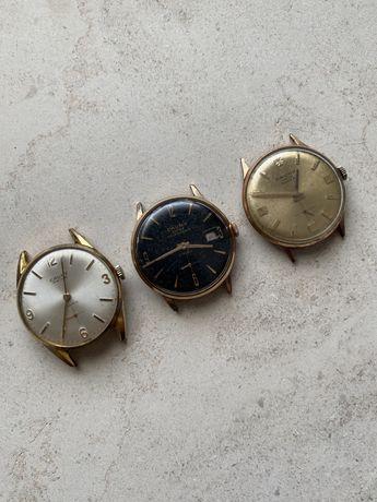 Lote de 3 Relógios Cauny mecânicos (novas fotografias)
