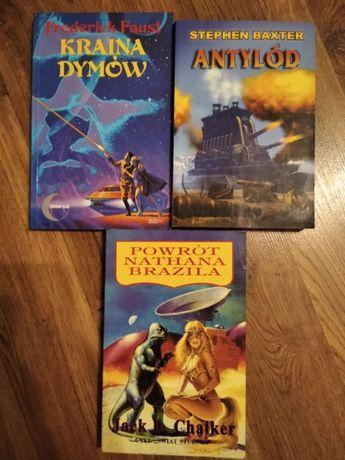 3 książki sci-fi za 10 zł (Faust, Baxter, Chalker)