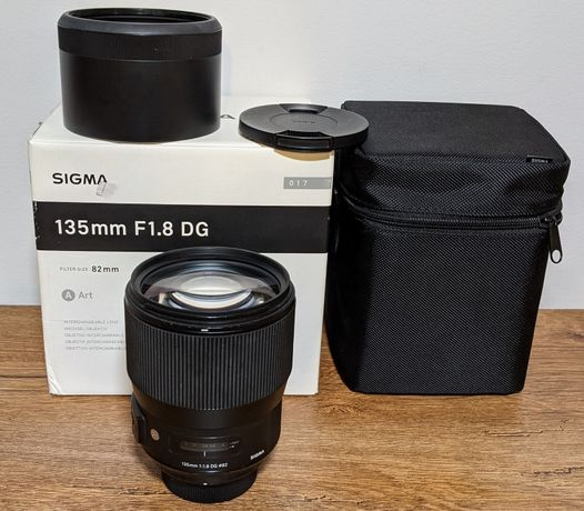 SIGMA 135mm 1:1.8 ART DG HSM Nikon