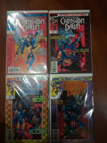 X-Men Crimson dawn 1-4