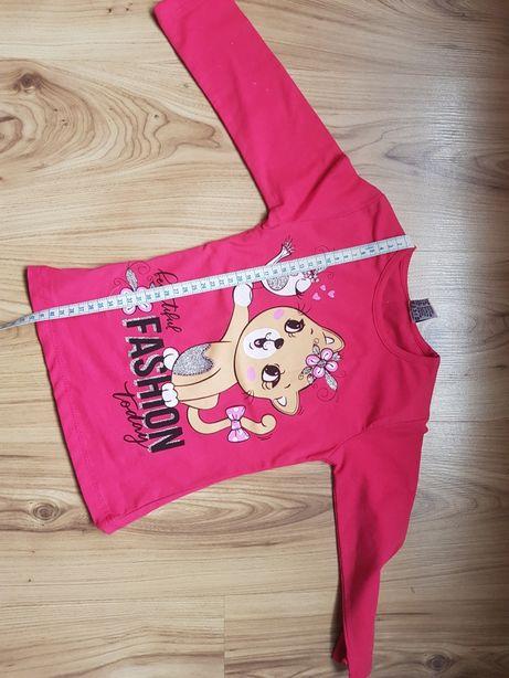 Koszulka z długim rękawem, nowa r.110 3-4lata