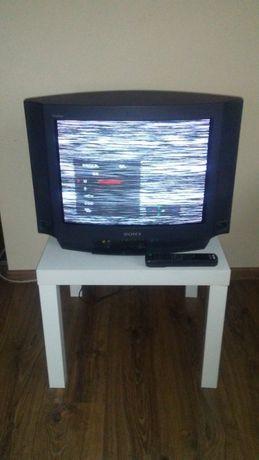 telewizor SONY 21 cali+pilot+stolik