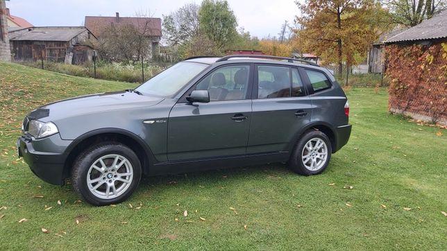 BMW X3/2.0dies/150kM/xenon/XIl-2004/2005/4x4-xdrive/w oryg/super stan/
