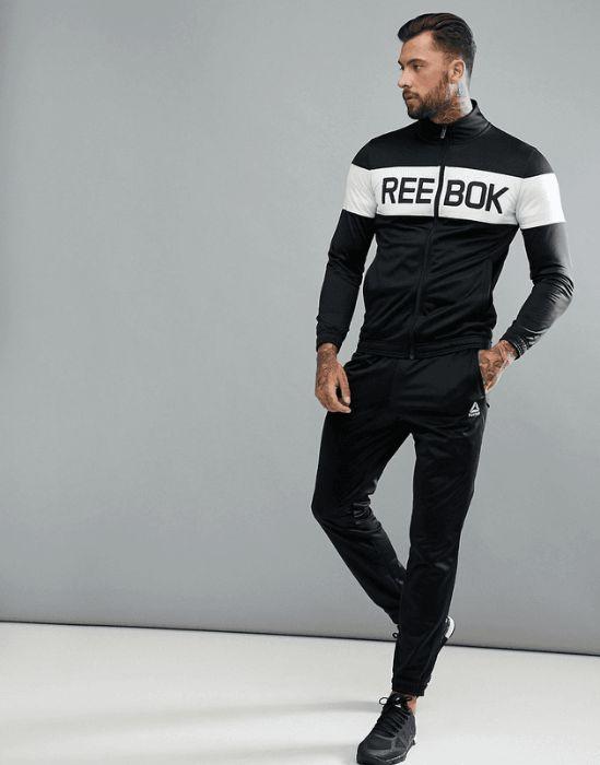 Черный спортивный костюм Reebok Training BQ5736 Харьков - изображение 1