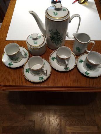 Serwis do kawy porcelany