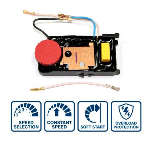 Controlador de Velocidade Variável para Rebarbadora GWS 14-125 CIE
