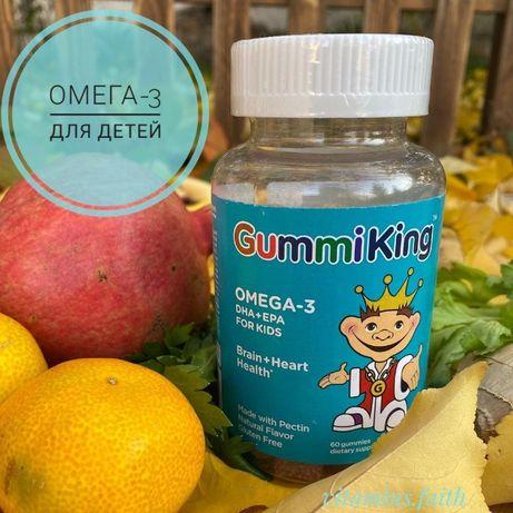 GummiKing, Омега-3 ДГК + ЭПК для детей