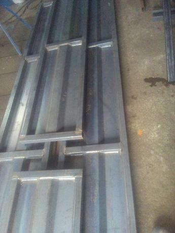 Burty borty do przyczepy d 35 d47 50 d-55 732 3,5 4 6 ton