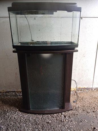 Akwarium 60 l z szafka