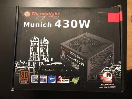 Praktycznie nowy zasilacz komputerowy Thermaltake Munich 430W