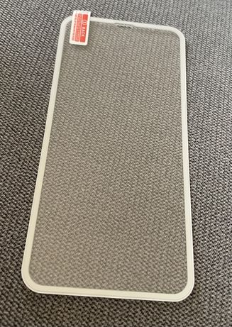 Szkło ochronne szybka iphone 11 białe folia
