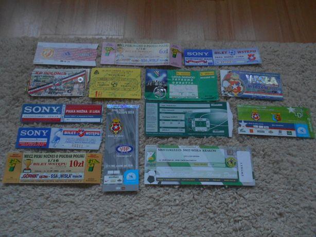 Bilety piłkarskie