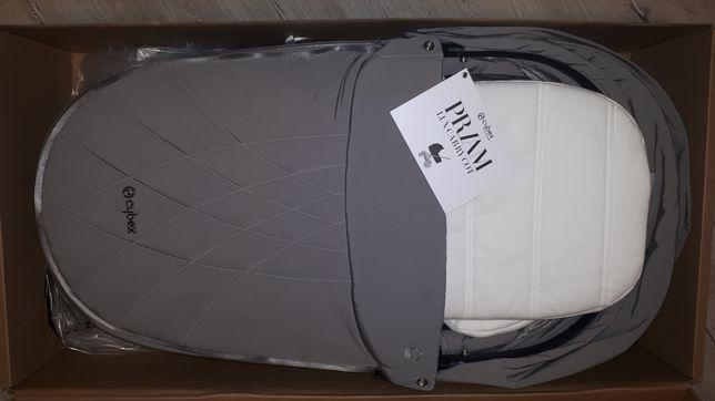 Gondola Cybex Priam 2.0 Soho Grey Nowa 24 msc gwarancji