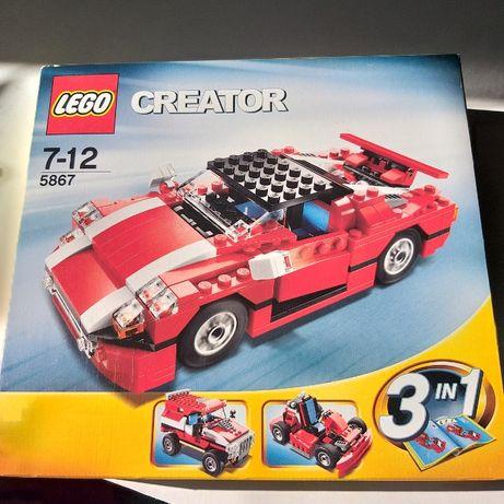 Lego Creator 5867 7/12 Carro jipe e kart / Super Speedster 278 peças