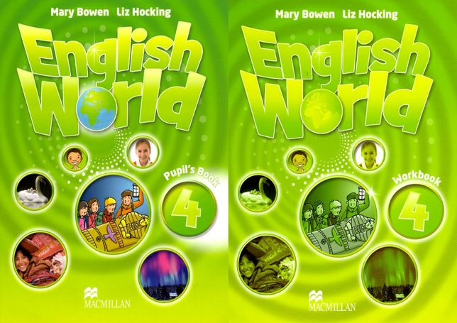 English World 4 комплект: Pupil's Book + Workbook + CD