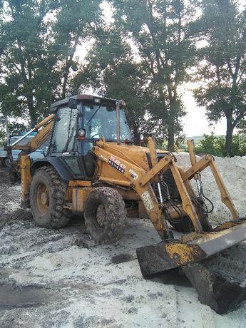 Продам трактор екскаватор – навантажувач CASE 580 SLE