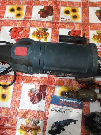 продам болгарку марки ростех ушм21-230п на запчасти.