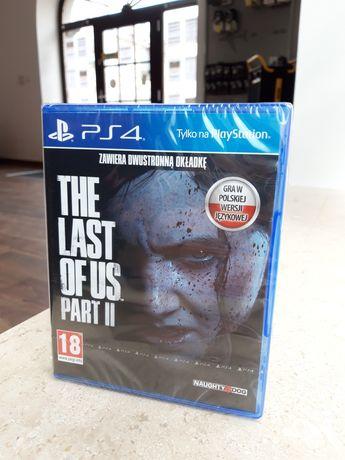 The Last of Us Part II PL PlayStation 4 5 gra PS4 PS5 FOLIA LOMBARD
