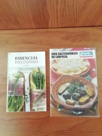 Folhetos de culinária do J.N.