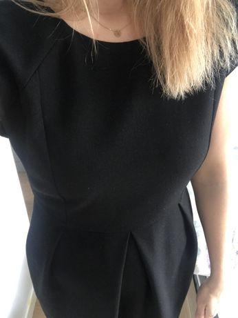Sukienka czarna Massimo Dutti