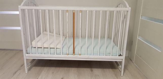 Łóżeczko dziecięce i materac Ikea VYSSA