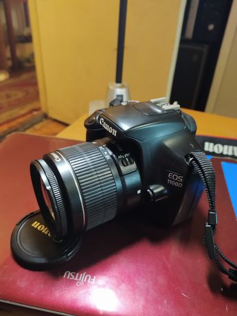 Canon 1100d, фотоаппарат