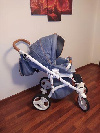 Wózek Adamex Massimo V14 + fotelik