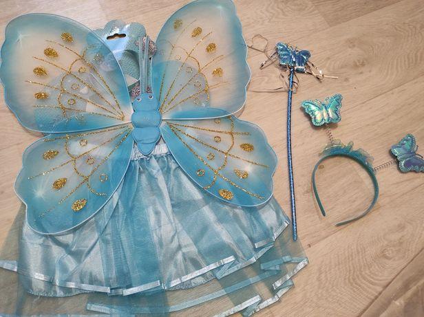 Новый карнавальный костюм бабочки. Крылышки бабочки , феи.