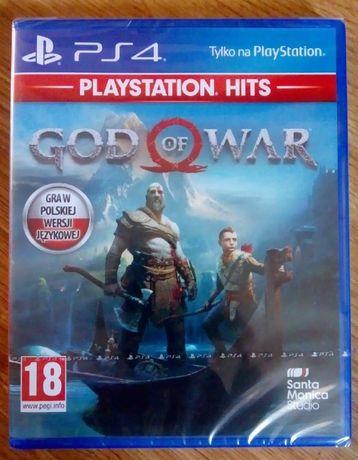 God of War PS4 nowe w folii PL - sprzedam