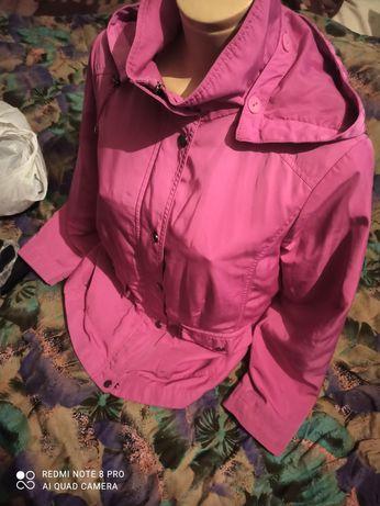 Женская, или на подростка неоновая куртка весенняя ветровка!