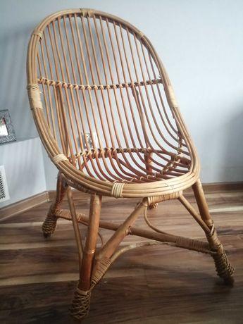 Krzesła wiklinowe