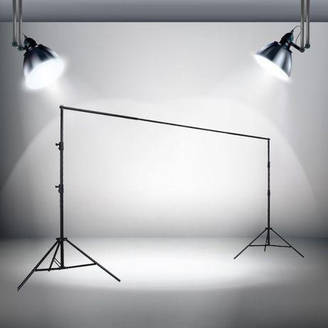 3 зажима в комплеке фотозона Ворота студийные для фона 2,8х3,15м