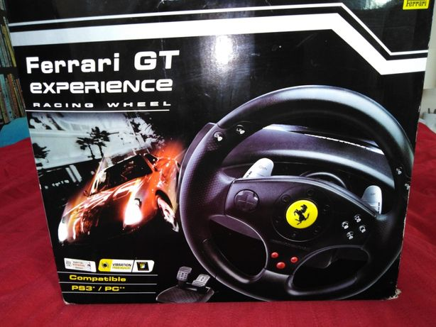 Thrustmaster Ferrari GT experience racing wheel, Ps3, Pc