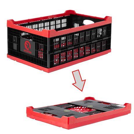 Ящик складной, пластиковый, загрузка 30 кг, 47 л. INTERTOOL BX-6426
