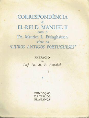 0693 - Correspondência de El-Rei D. Manuel II