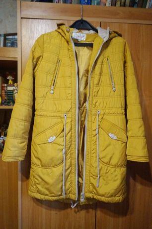 Куртка на девочку 7-11 лет демисезонная польская
