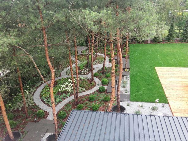 Zakładanie ogrodów,trawników,nawadnianie,kostka brukowa