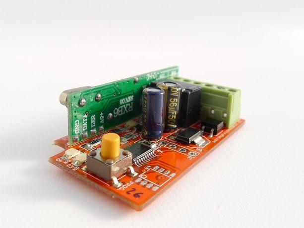 RXU01 Receptor Comandos Portão Universal Codigos Fixos + Rolling Code